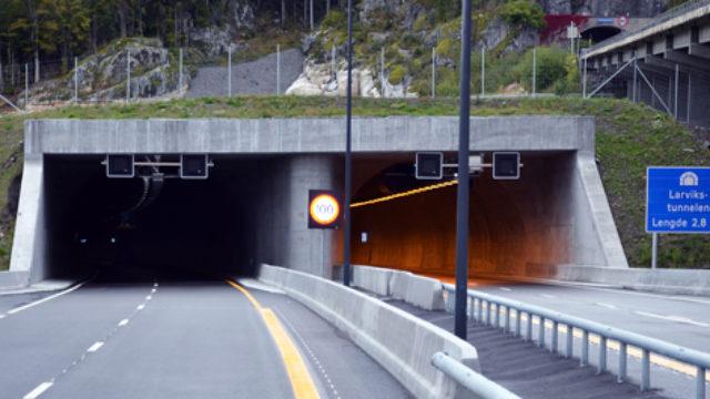 E18 Bommestad – Sky i Larvik, Norge